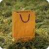 china handmade made yellow kraft paper bag with rope