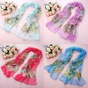 17 colors Light weight 100% silk butterfly scarf