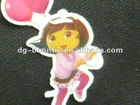 2012 new design China 3D soft pvc sticker for children clothing