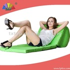 out door folding beach cot bean bag