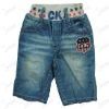 Children's jeans with elastic waistband- 8046#