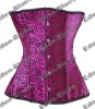 Sexy Purple Amazing Circle Underbust Full Steel Bones Corset Latest Style Sexy Lingerie Bustier ,Manufacture Direct, Clubwear