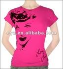 comfortable cotton t shirt ladies tshirt