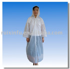 Disposable PE Rain Coat