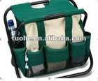 tool bag material is 600D polyester with shelf