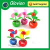 flower power fan flower pot fan usb foam blades fan