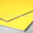 Stable qualityPE/PVDF brush finish aluminum plastic composite panel marble finished