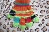 new design colorful acrylic Knitted baby Magic Gloves