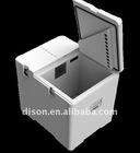 Dry Ice Plastic Cooler Box/Picnic box