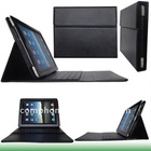With bluetooth and keyboard, PU case leather case for ipad 2