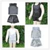 baby sequin suit/boy girl sequins top+short/ sequin vest top, sequin T-shirt, sequin short/shiny sequin shorts/girl dance wear