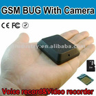 X009 GSM BUG with Camera with video and voice record take photo GSM Hidden Camera SIM and TF Card Slot