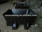 Cast Steel Sow Mold for Aluminum Remelters