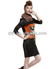 8931-Korean slim business suit skirt sets