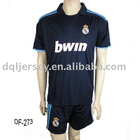 the latest 09-10 Season Real Madrid Away team jersey