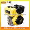 5,5 L Tank Low Vibration and Low Noise Vertical Diesel Engine 12 HP