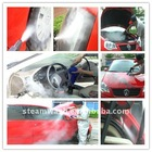 self service car clean with steam