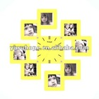 2012 newest decoration photo frame wall clock