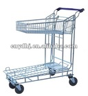 Metallic Airport Luggage Trolley YD-0132