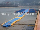 plastic pontoon bridge