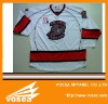 Professional Customized embroidery tackle twill ice hockey jersey