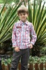 latest styles of boys check shirts