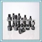 sets of hex bolts and hex nut for steel structuers