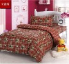 Cheap fitted cute bed sheet set