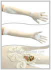 2013 Newest Satin Finger Pearl Wedding Bridal Glove