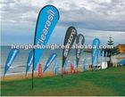 Fashion Polyster Advertising Beach Flag