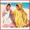 2012 Wholesale New Beach Towel Baby Bathrobe