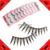 Cheap! 10 Pairs Synthetic Fiber Rhinestone False Eyelash Extension Kit