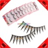 Cheap! 10 Pairs Synthetic Fiber Rhinestone False Eyelash Extension Kit