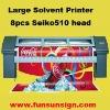 3.2m Large Format Solvent Vinyl Printer ( Seiko head, real 720dpi )