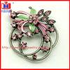 fashion rhinestone flower brooch