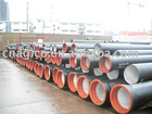 K9 ductile cast iron pipe coated by cement, epoxy and zinc