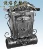 Wrought Iron Mailbox {HB-F061}