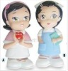 Pretty Little Twins Girls Figures in Different