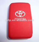 2012 newest colourful silicone car key cases for toyota