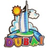 DUBAI 3D fridge magnet