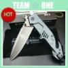 OEM Extrema Ratio MF3 Ash Titanium Folding Blade Knife Outdoor Knife Survival Knife Udtek00155