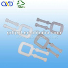 Convenient Light and Recycle Plastic Clips for PP Packing Strap