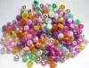 Plastic Alphabet Beads 9mm