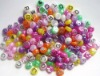 Plastic Alphabet Beads 9mm