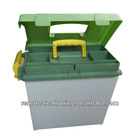Guangzhou factory,Engineering PP MuzzleLoader Utility Dry Box & Ammo Case,hard plastic dry box ,tool box(TB910)