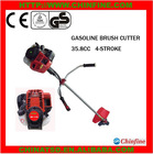 4-Stroke 35.8cc cheap gasoline garden grass cutter machine CF-BC139
