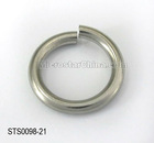 In stock jewelry 3*21mm stainless steel jump ring finding