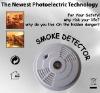 Smoke Alarm Detector with Escape Light - 9V