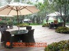 outdoor rattan furniture dining sets project sample