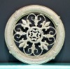 Polyresin hanging relief wall decor